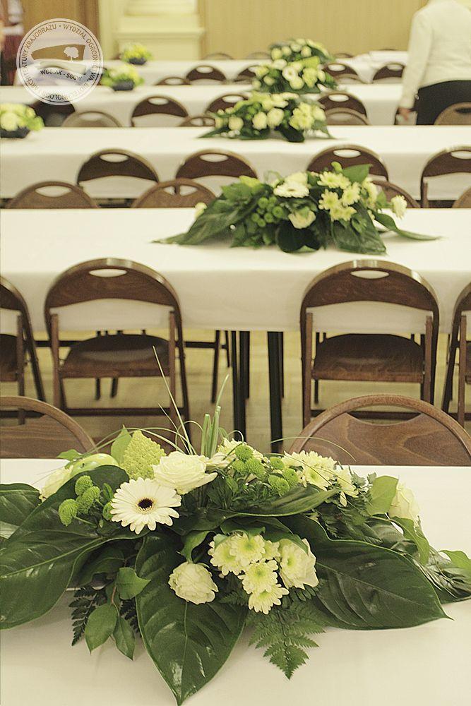 florystyka / floristry  #florystyka #kompozycja #dekoracja #konferencja / #floristry #conference #decoration #ideas #sggw #wobiak