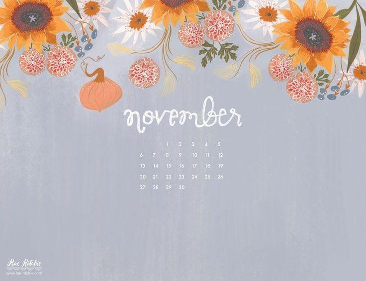 Calendar Desktop Wallpaper November 2018 Save At No Cost