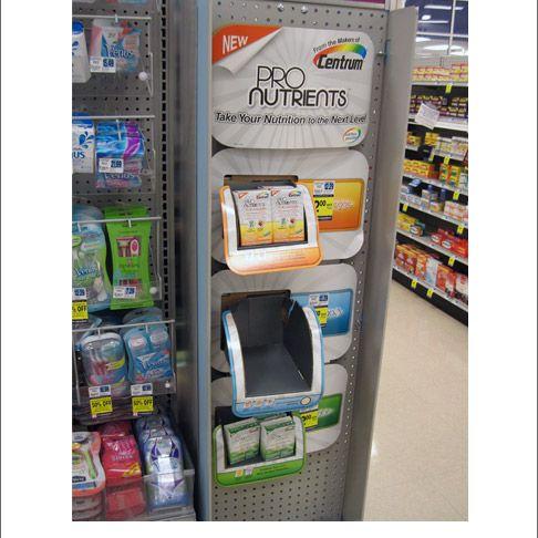 Popon | Image Gallery | Pro Nutrients Centrum Side Kick Display