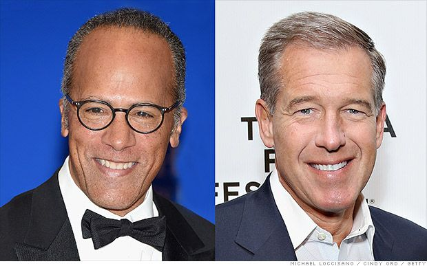 Lester Holt's son on his father's time to 'shine' in the anchor seat