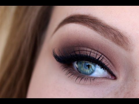 Basic brown smokey eye tutorial - Thelipstickjungle_ - YouTube