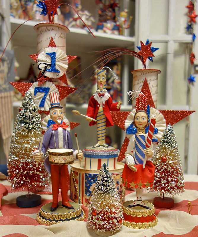 79 best Patriotic Decor  Displays images on Pinterest  July 4th