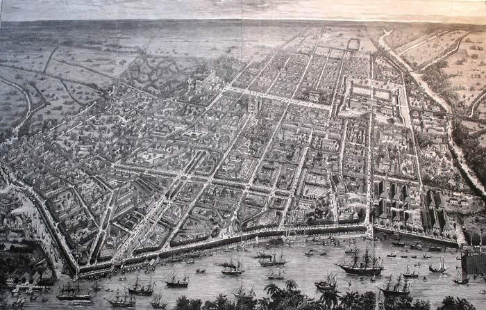 Saigon in 1881