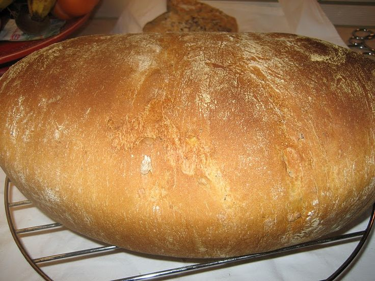 Ψωμί με γάλα χωρίς ζύμωμα          4 1/2 φλιτζάνια αλεύρι   1 3/4 φλιτζανιού γάλα ζεστό   2 κ,σ βιτάμλιωμένο   2 κγλ μαγιά ξερή   2 κ,γλ...