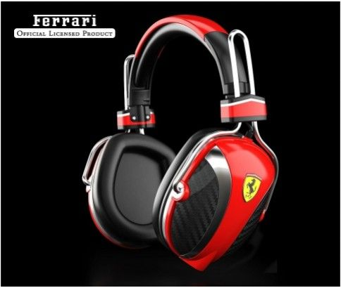 Ferrari P200 Over Ear Headphones