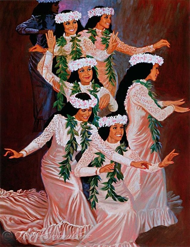 hawaii traditional clothing | Found on hawaiianculture.blogspot.com