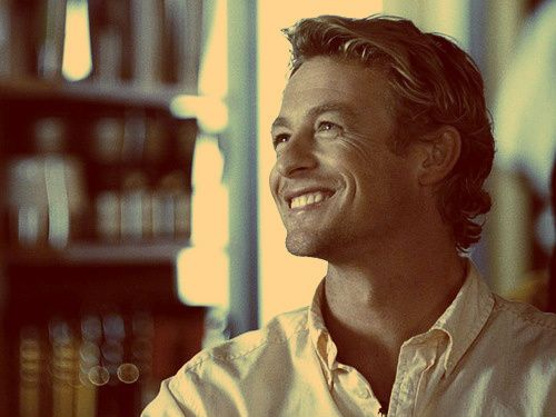 Patrick Jane - The Mentalist - Oh Mr Jane, I would play Rock Paper Scissors with you forever...