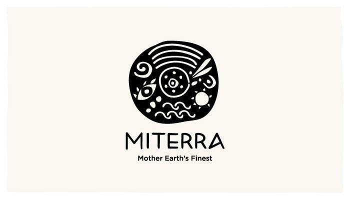 Beautiful Logo Design, Branding & Packaging by Sophia Georgopoulou for Miterra Olive Oil.