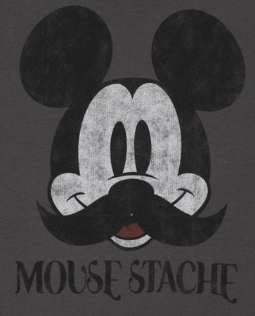Mouse stache mickey