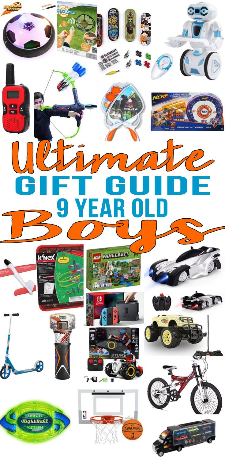 Best Gifts 9 Year Old Boys Will Love Best Gifts For Boys