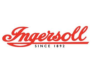 Ingersoll watch logo. Founded in 1892, by Charles and Robert Ingersoll in the United States. Home of the $1 watch.