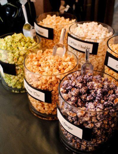 Flavored popcorn!!                                                                                                                                                                                 More