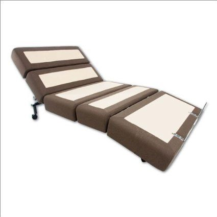 Rize Contemporary Fully Electric Adjustable Bed Base - Full