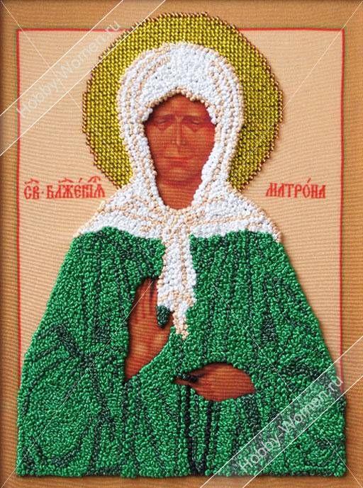 Набор для вышивания лентами Woman-Hobby ВЛИС0002 Матрона Московская