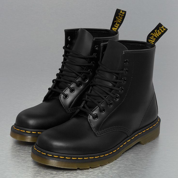 Dr. Martens Pascal 8 Eye Boots (180 AUD) ❤ liked on Polyvore featuring  shoes, boots, military lace up boots, real leather boots, ivory boots,  comba…