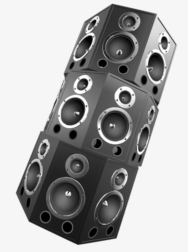Multi Speaker Sound Sound Clipart Stereo Surround Bass Png Transparent Clipart Image And Psd File For Free Download Speaker Dj Speakers Sound