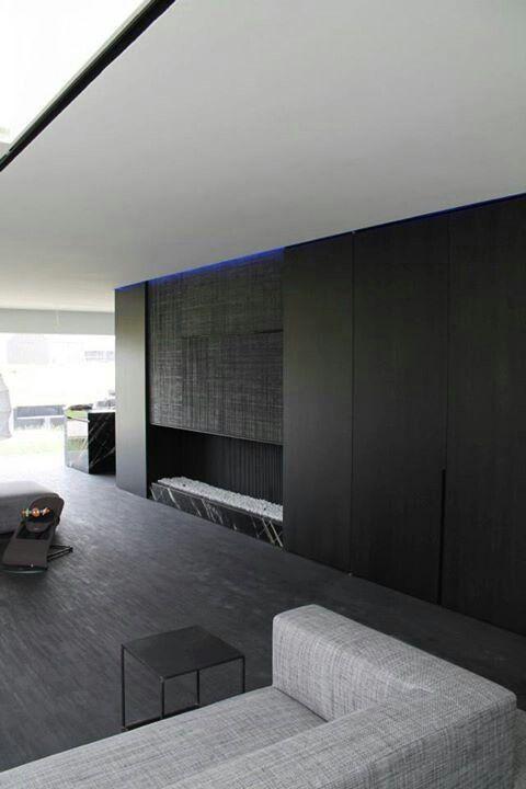 Interior by Belgian architect Pascal François.