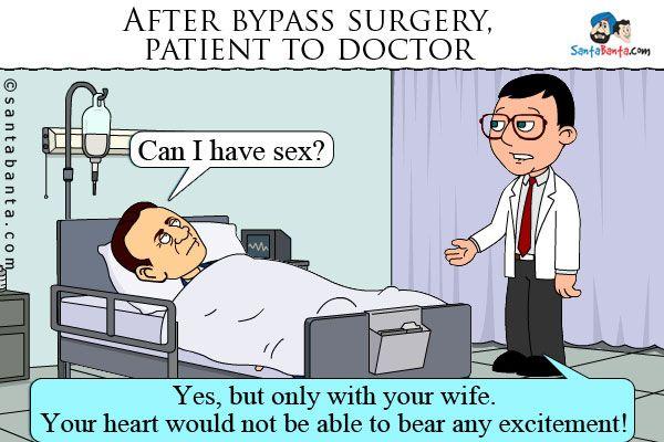 Bypass Surgery.