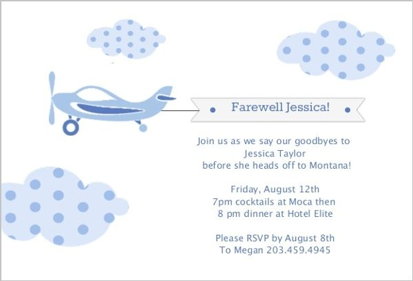 Farewell Party Invite Divayani Pinterest Farewell parties - farewell party invitation template