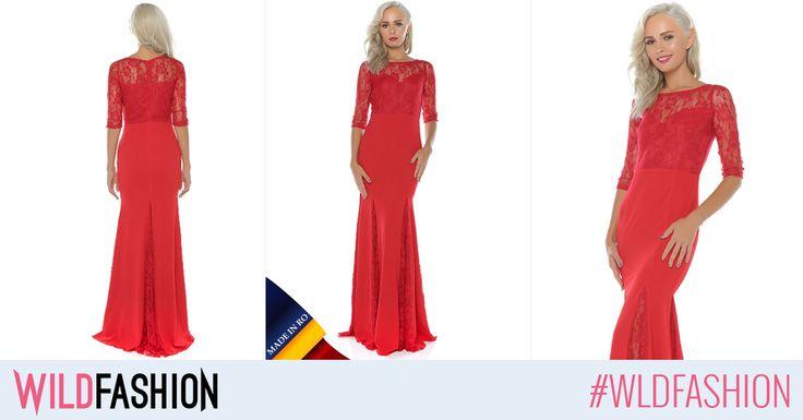 Pentru evenimentele de eticheta din aceasta vara, noi iti recomandam o superba rochie maxi, Made in Romania: