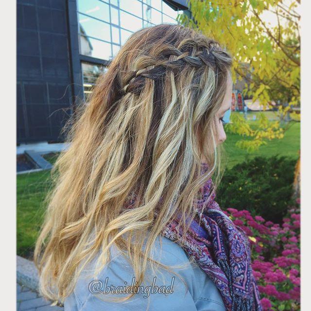 #fourstrandwaterfallbraid #headband inspired by @missysueblog and @anniesforgetmeknots  #braid #braids #braiding #braidinghair #braidideas #instabraids #letti #letit #lettikampaus #letitys #hairdo #hairdos #hairstyles #flette #plaitedhair #suomiletit #braidsforgirls #featuremeisijatytot #featuremejehat #hotbraidsmara #braidyourself  #waterfallbraid #fourstrandwaterfall @braidinginspiration #lrb30daybraidingchallenge