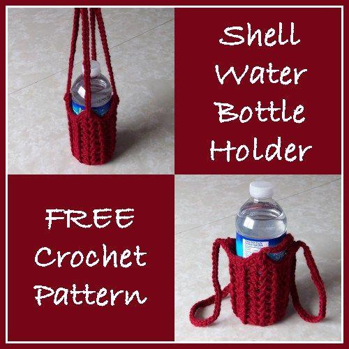 134 best Porta botellas crochet images on Pinterest | Botellas de ...