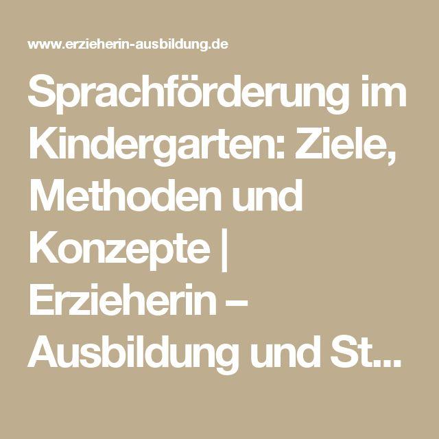 Vintage Sprachf rderung im Kindergarten Ziele Methoden und Konzepte Erzieherin u Ausbildung und Stellenangebote
