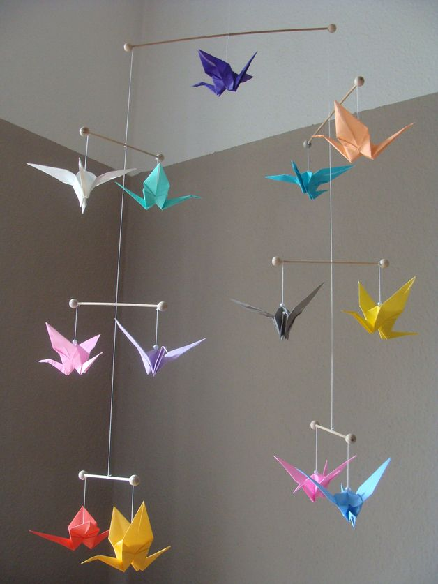 traumf nger dream catcher 17cm ca 50cm lang origami products and mobiles. Black Bedroom Furniture Sets. Home Design Ideas