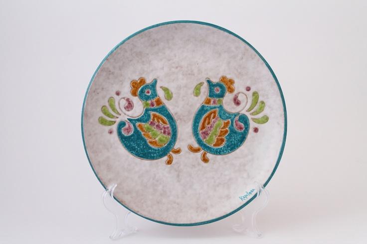 Ceramica : Piatto disco 25cm
