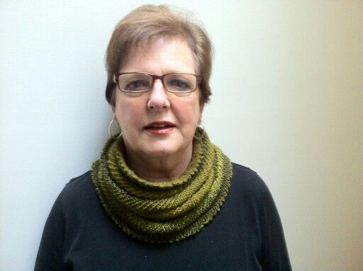 Willow cowl knitted for Mum.