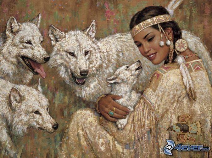 Американские индейцы - фото начала ХХ века - История человечества - Факты о человеке