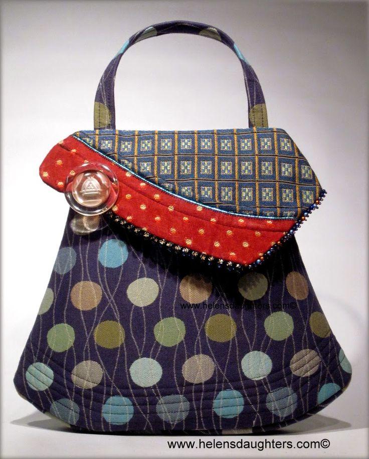Helen's Daughters Studio - Cool Boo Make A Handbag A Day Challenge - www.facebook.com/helensdaughtershandbags