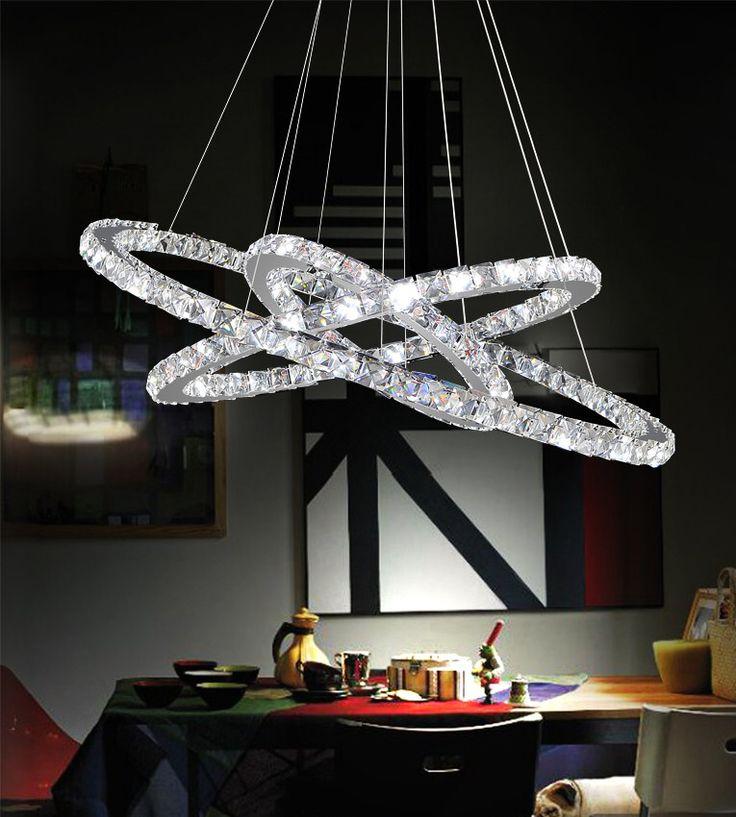 Ring LED Light Chandelier