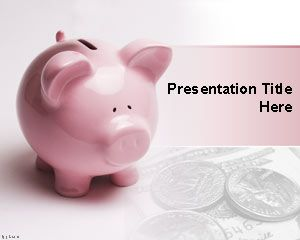 9 best birthday powerpoint templates images on pinterest ppt financial piggy bank powerpoint template free powerpoint templates toneelgroepblik Gallery