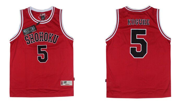 Slam Dunk Basketball SHOHOKU Jersey Cosplay Costume Athletic Apparel free ship
