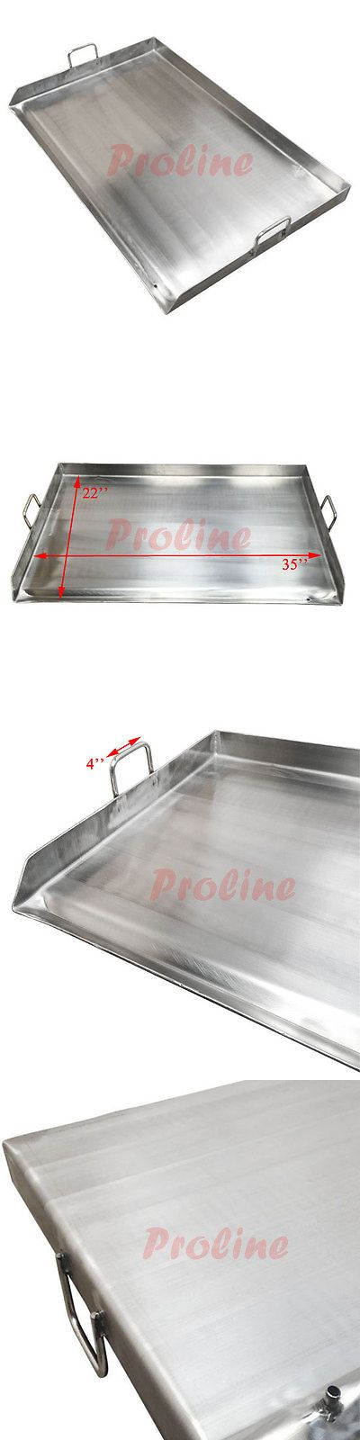 Grills and Griddles 20675: 36 X 22 Stainless Steel Comal Griddle Flat Top Grill For Triple Burner Stove -> BUY IT NOW ONLY: $139.99 on eBay!