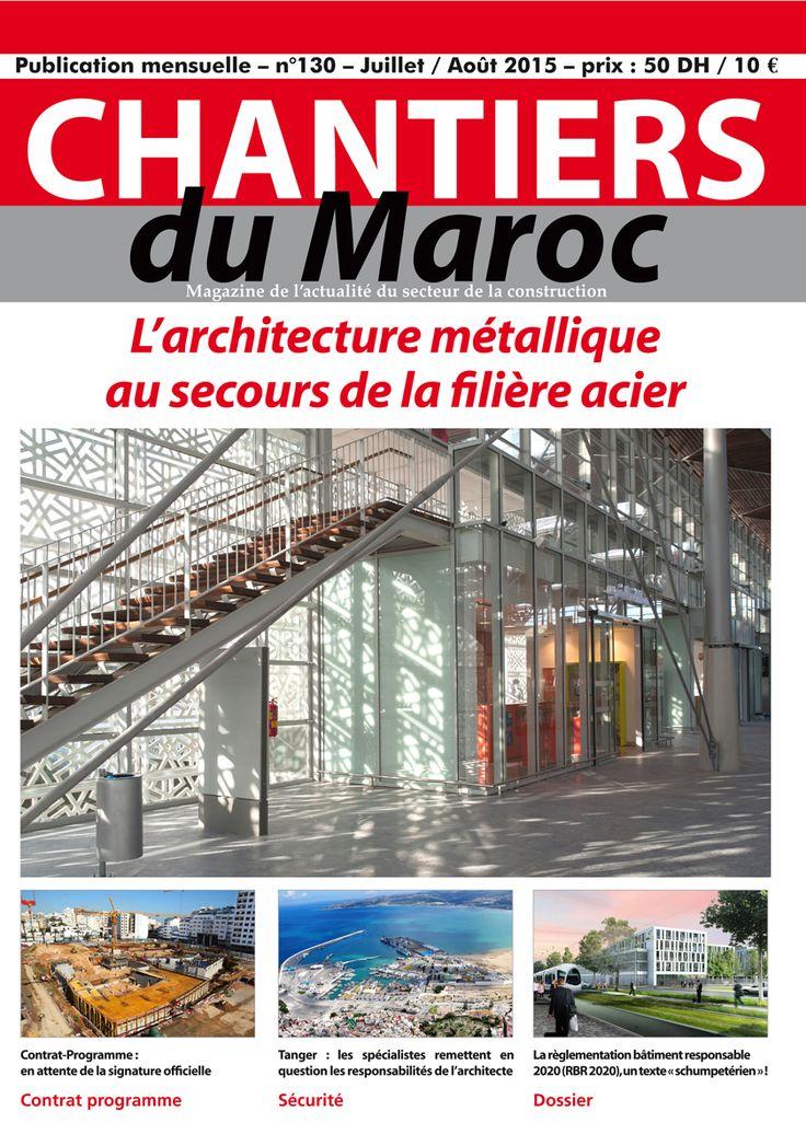 Chantiers du Maroc // Magazine de l'actualité du secteur de la construction au Maroc - Archimedia - 1er groupe des médias de l'architecture et du bâtiment au Maroc