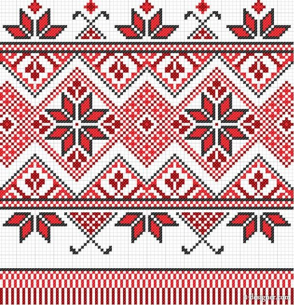 Exquisite cross stitch patterns  palestinian embroidery