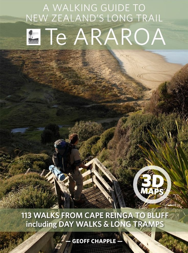 The official guide to New Zealand's longest trail
