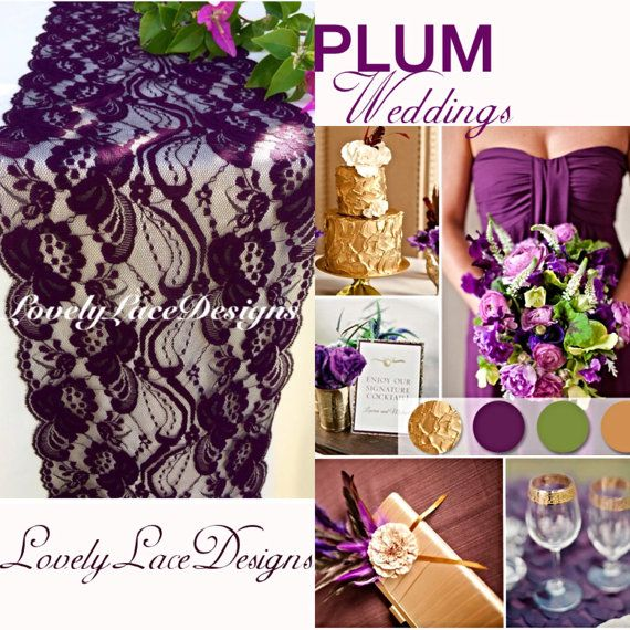 1000+ Ideas About Plum Wedding Decor On Pinterest