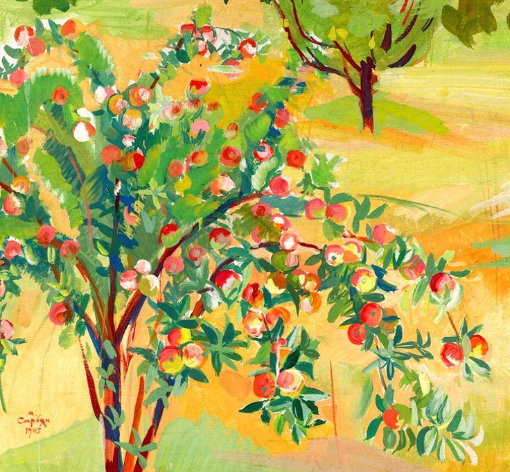 The Fruits Are Ripe, September, Martiros Saryan 1880-1972Martiros Saryan