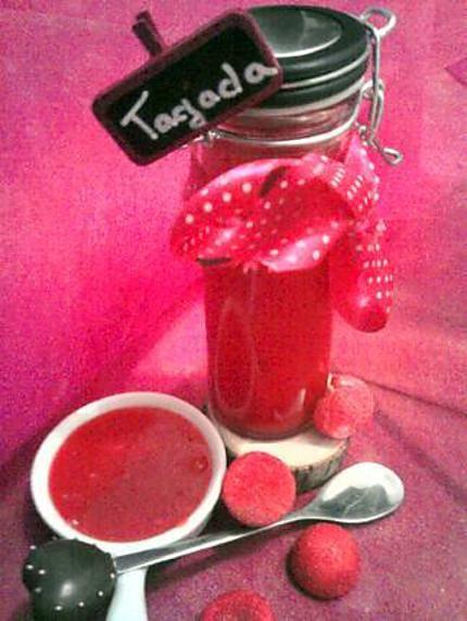 Recette de Pate à tartiner aux fraise Tagada ®
