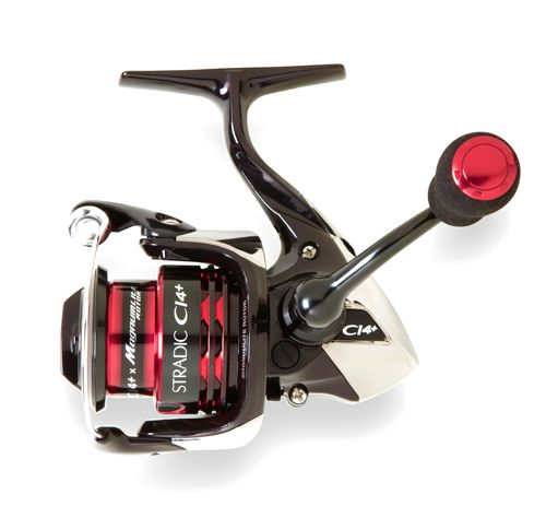 Shimano Stradic CI4 Plus Spinning Reels    The Shimano Stradic CI4 Plus Spinning reels are the ultimate in lightweight reels designed for the ultra-finesse angler. They are durable with a 0.54 Force(N) CI4+ material.