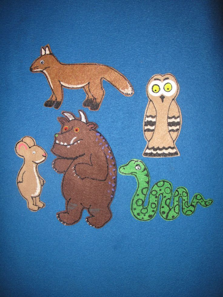 The Gruffalo by PlayfulPathFelts on Etsy