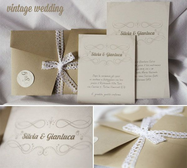 vintage wedding stationery by intodesign.org