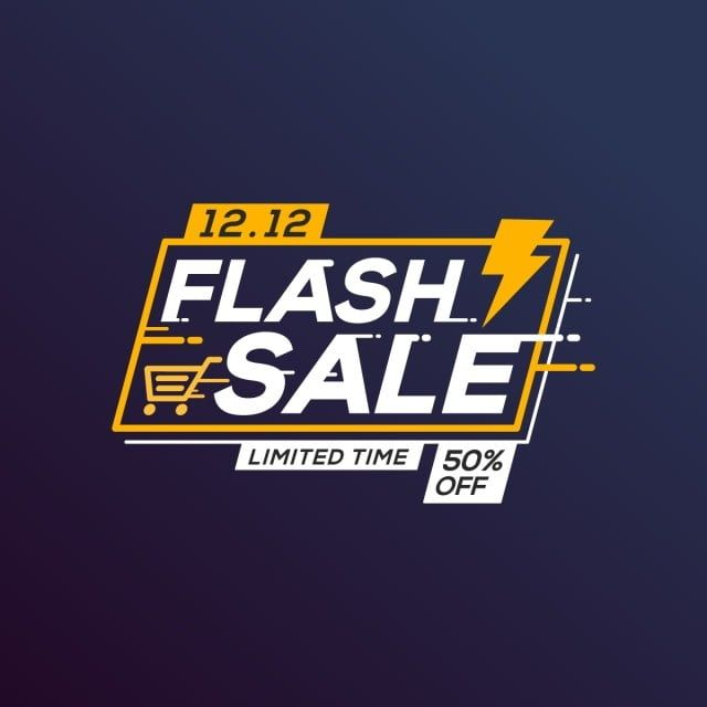 Flash Sale Banner Template Special Offer With Sale Flash Banner Png And Vector With Transparent Background For Free Download Sale Banner Banner Template Banner Template Design