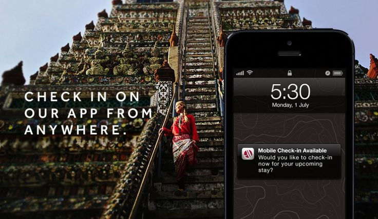 Checking in is as easy as a check-in with @Marriott Hotels #mobile app: http://travel-brilliantly.marriott.com/our-innovations/check-in-app #TravelBrilliantly