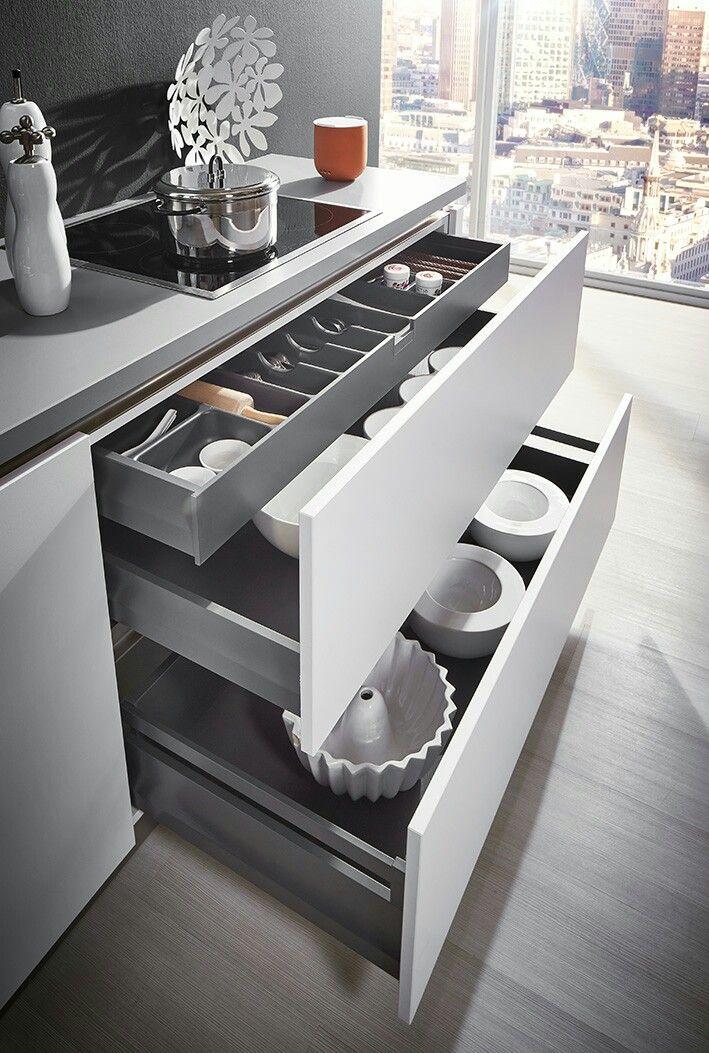 22 best Lade indelingen keuken images on Pinterest Clever - steckdosen in der küche
