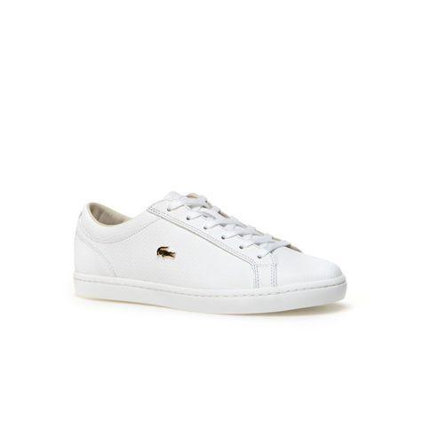 Sneakers Cuir Crocodile Femme Straighset Avec En DoréBaskets ucTKJ3lF1