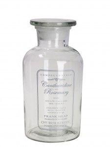 Słój apteczny z pokrywką  / butelka Alvida Lene Bjerre  21 cm